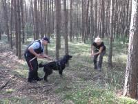Medzinárodné cvičenie Poľsko- Sokole Kužnica - technika privolania psovoda psom od Agnieszky Pórowskej